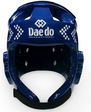 Электронный защитный шлем DAEDO TK-STRIKE синий