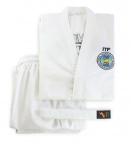 Кимоно для тхэквондо Sasung White Belt ITF