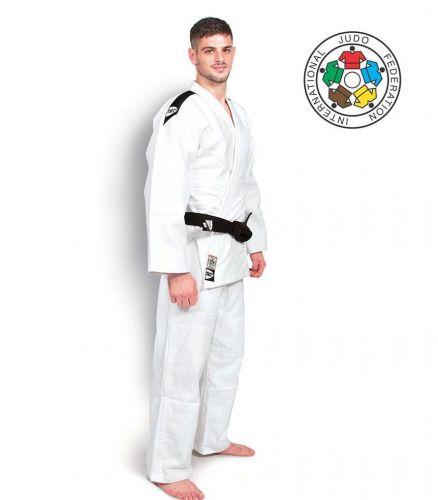 Кимоно для дзюдо Green Gill Professional IJF белое