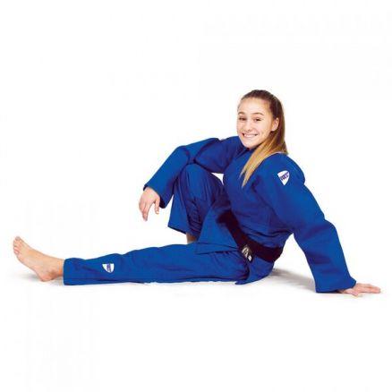 Кимоно для дзюдо Green Hill Semi-Competition синее