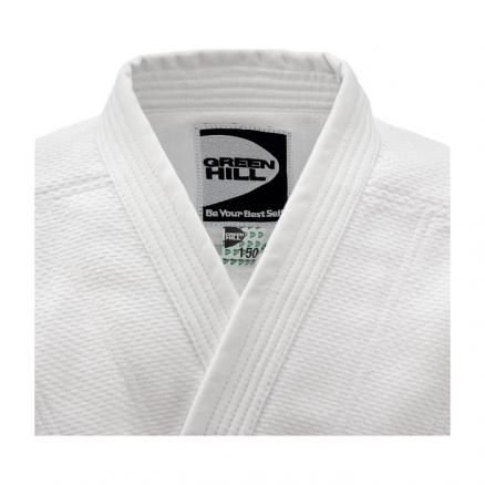 Кимоно для дзюдо Green Hill Training белое