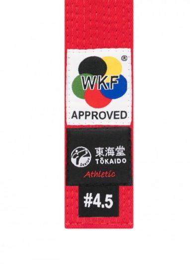 Пояс для кимоно красный Tokaido Belt WKF