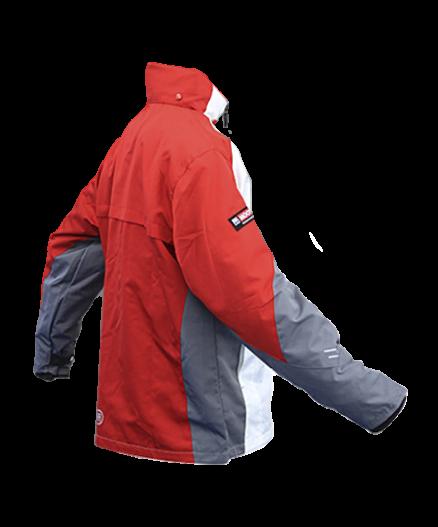 Куртка бело-красная спортивная MOOTO
