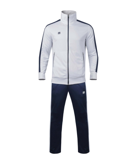 Костюм бело-синий спортивный MOOTO
