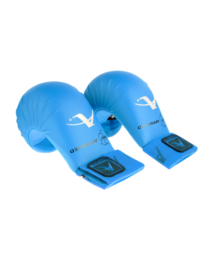 Накладки для карате синие Arawaza WKF