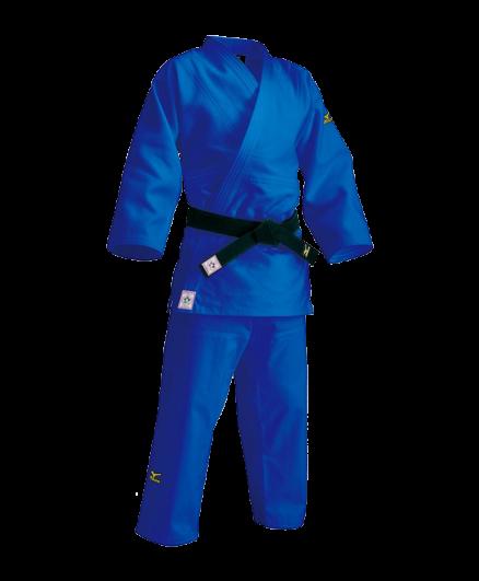 Кимоно для дзюдо Mizuno Yusho Best II синее IJF