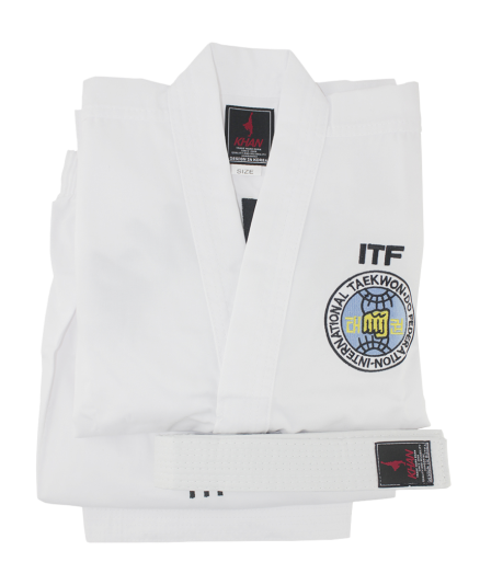 Кимоно для тхэквондо Khan White Belt Club ITF