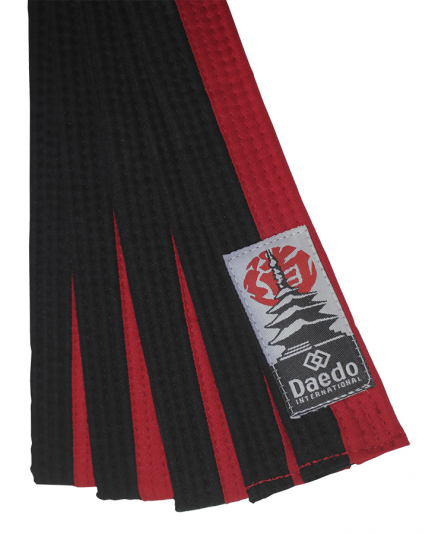 Пояс для тхэквондо Daedo Belt Black-Red