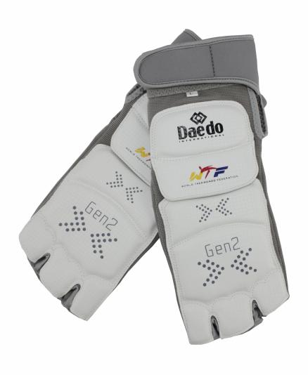 Электронные защитные футы для тхэквондо Daedo GEN 2